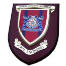 Royal Engineers Junior Leaders Regimental Military Wall Plaque Mess Shield